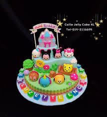 customized jelly cake KL